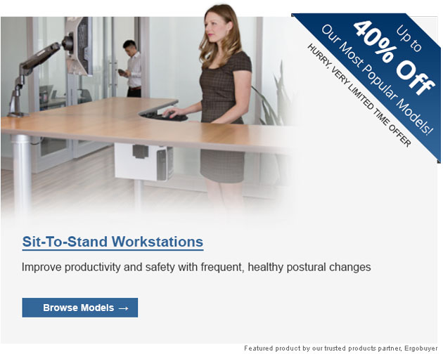 Ergobuyer Sit Stand Workstations