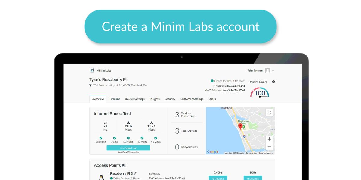 Create a Minim Labs account