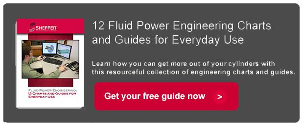 Fluid power engineering charts and guides for everyday use
