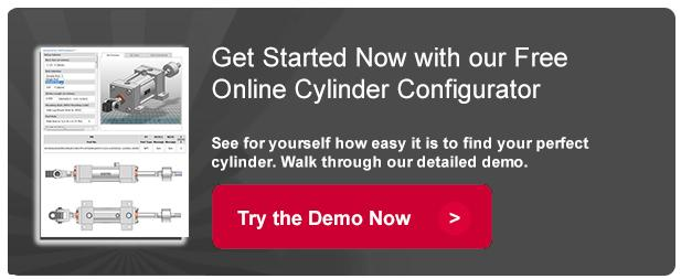 Configure a cylinder online for free