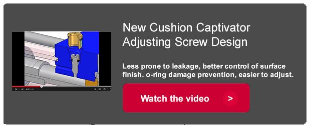 Cushion Captivator Adjusting Screw Design
