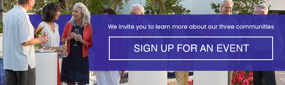Sign up for an event
