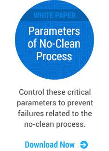 White Paper: The Critical Parameters of a No-Clean Process