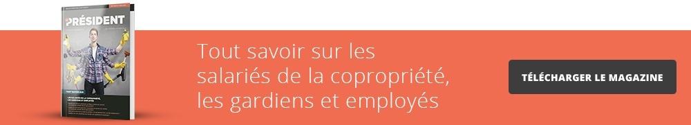 Les salariés de la copropriété