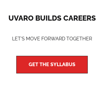 Uvaro Builds Careers Let's Move Forward Together Get The Syllabus