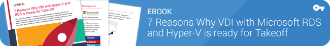Ebook: 7 Reasons why Microsoft VDI is ready for takeoff