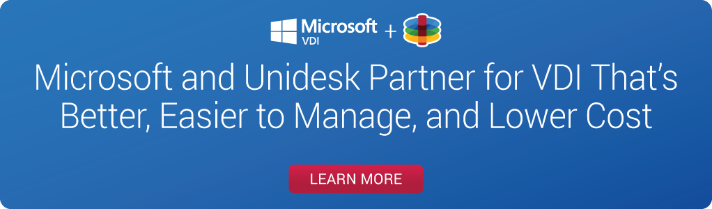 Unidesk is open management for the hybrid cloud.
