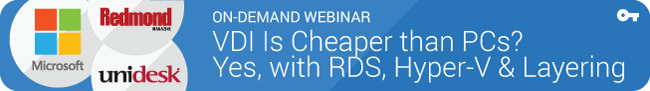 On-Demand Webinar: VDI is cheaper than PCs?