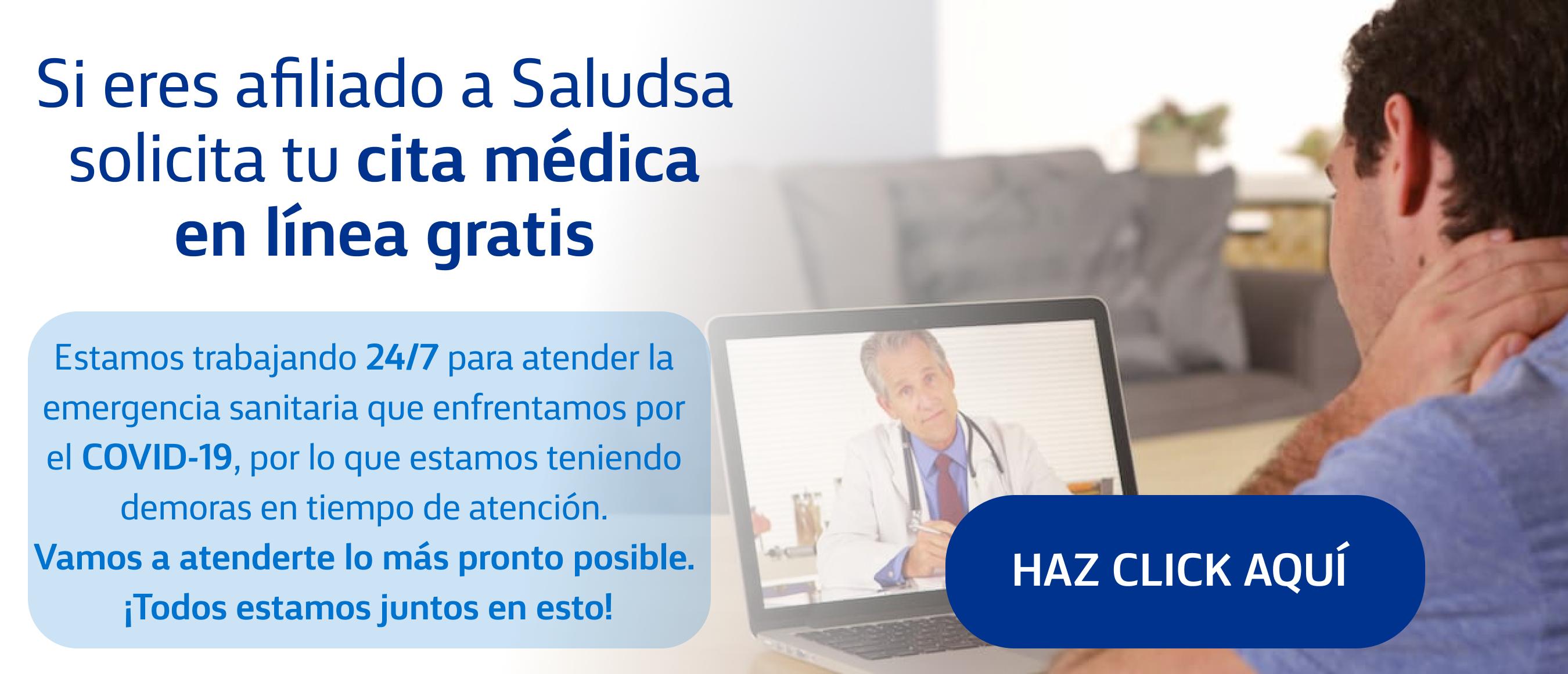 Consulta médica en línea