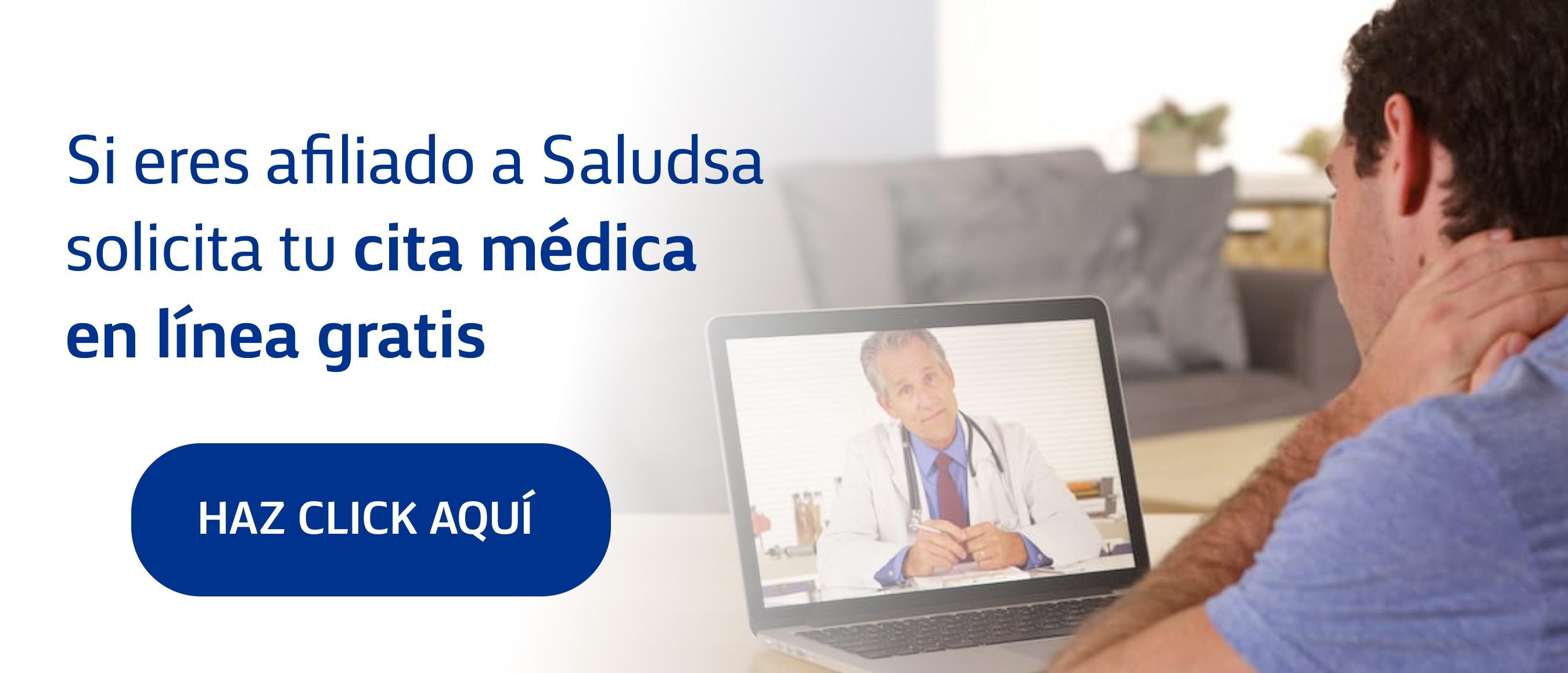 Cita médica en línea