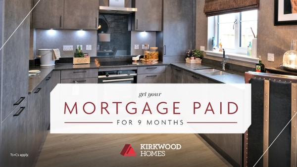 Your mortgage paid for 9 months