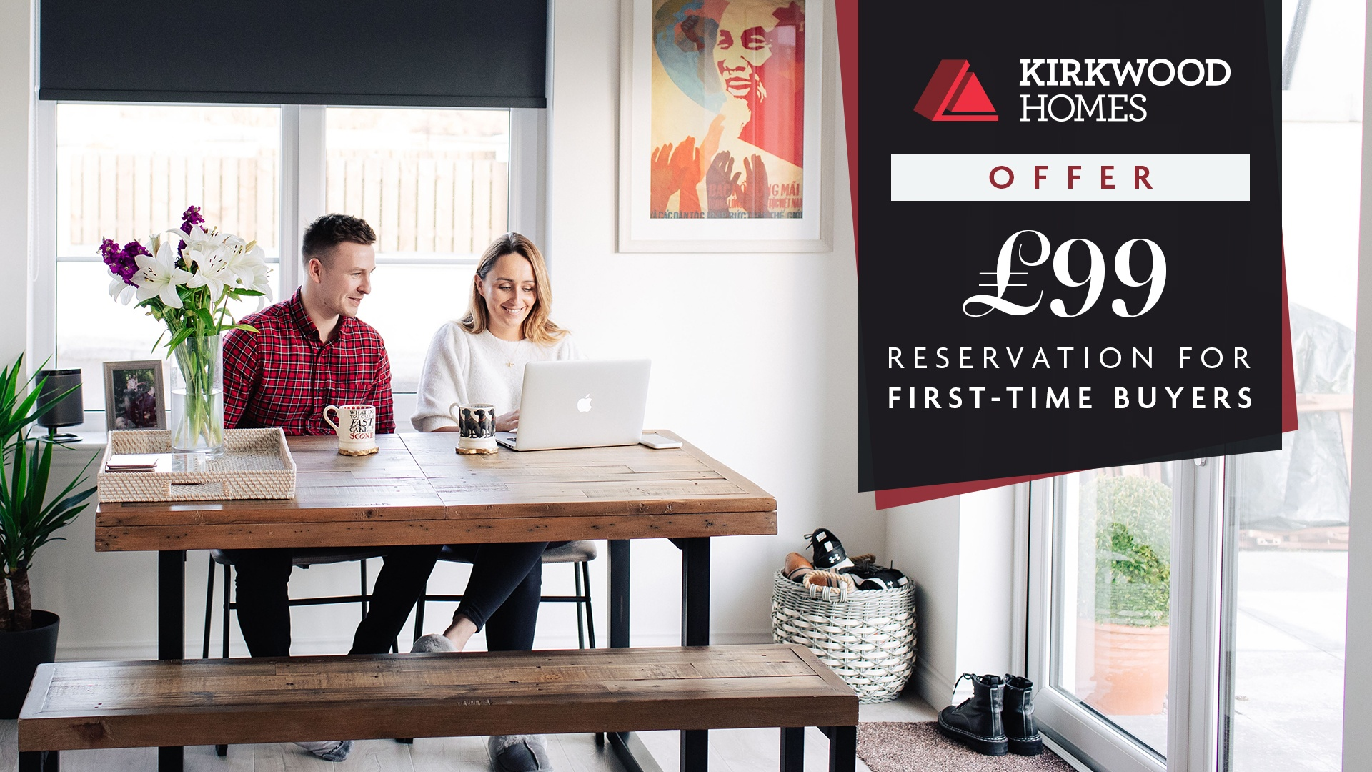 £99 reservation for first time buyers