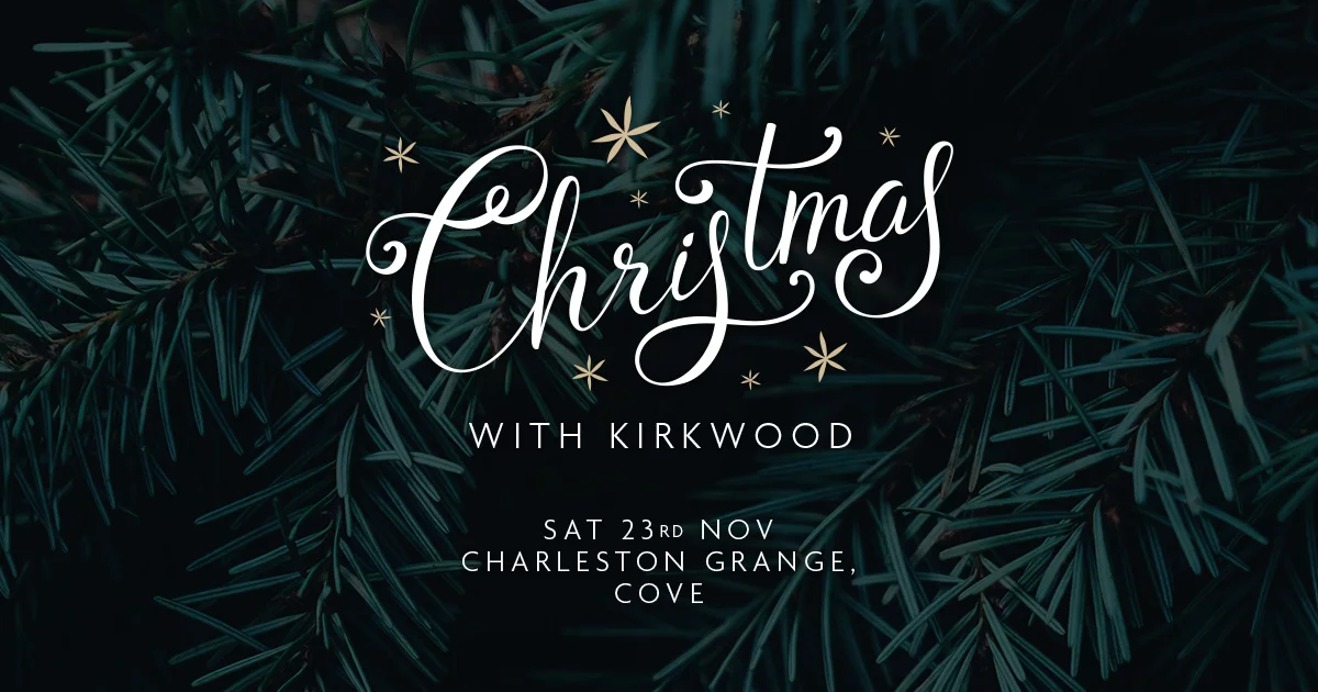 Celebrate Christmas in style at our festive event