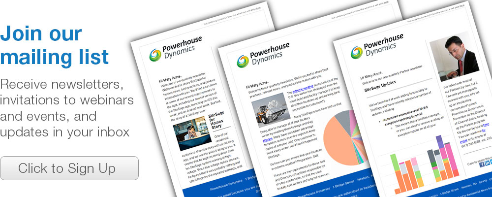 Join the Powerhouse Dynamics mailing list
