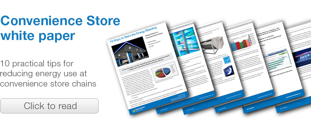 White Paper: Energy efficiency in convenience store chains