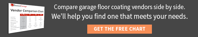 Download our garage flooring vendor comparison chart.