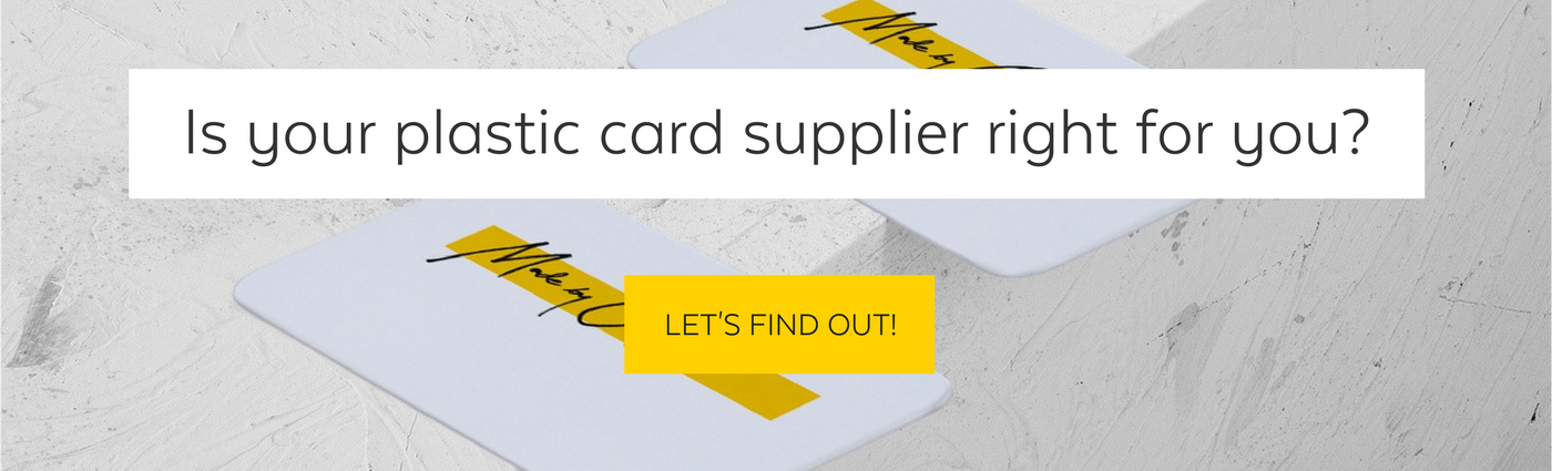 Made by Oomph checklist to plastic card printing