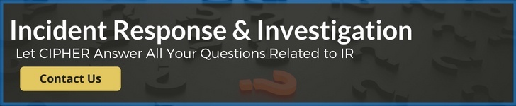 Ask Us About Incident Response & Investigation