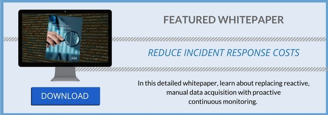 reduce the cost of incident response Carbon Black
