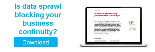 Is data sprawl blocking your business continuity?