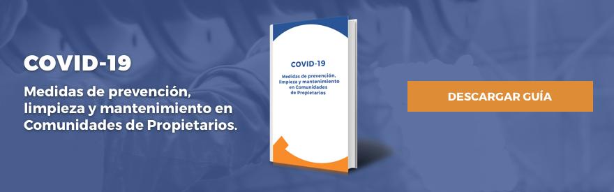 Medidas de prevención, limpieza y mantenimiento en Comunidades de Propietarios.