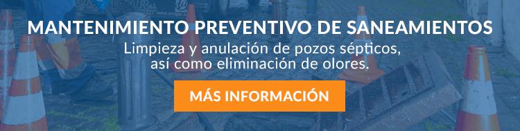 Mantenimiento preventivo de saneamiento