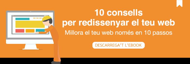 10 consells per redissenyar el teu web