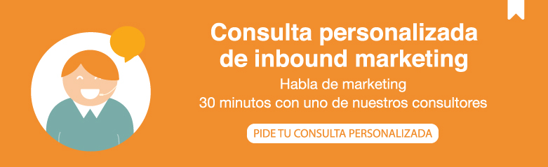 Consulta personalizada inbound marketing