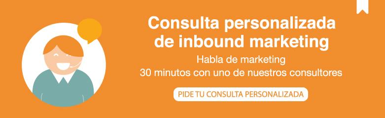 Consulta personalizada inbound marketing