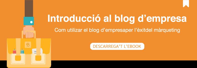 Introduccio al blog d'empresa
