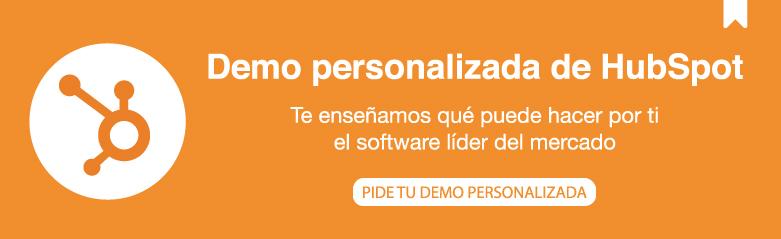 Demo personalizada de HubSpot