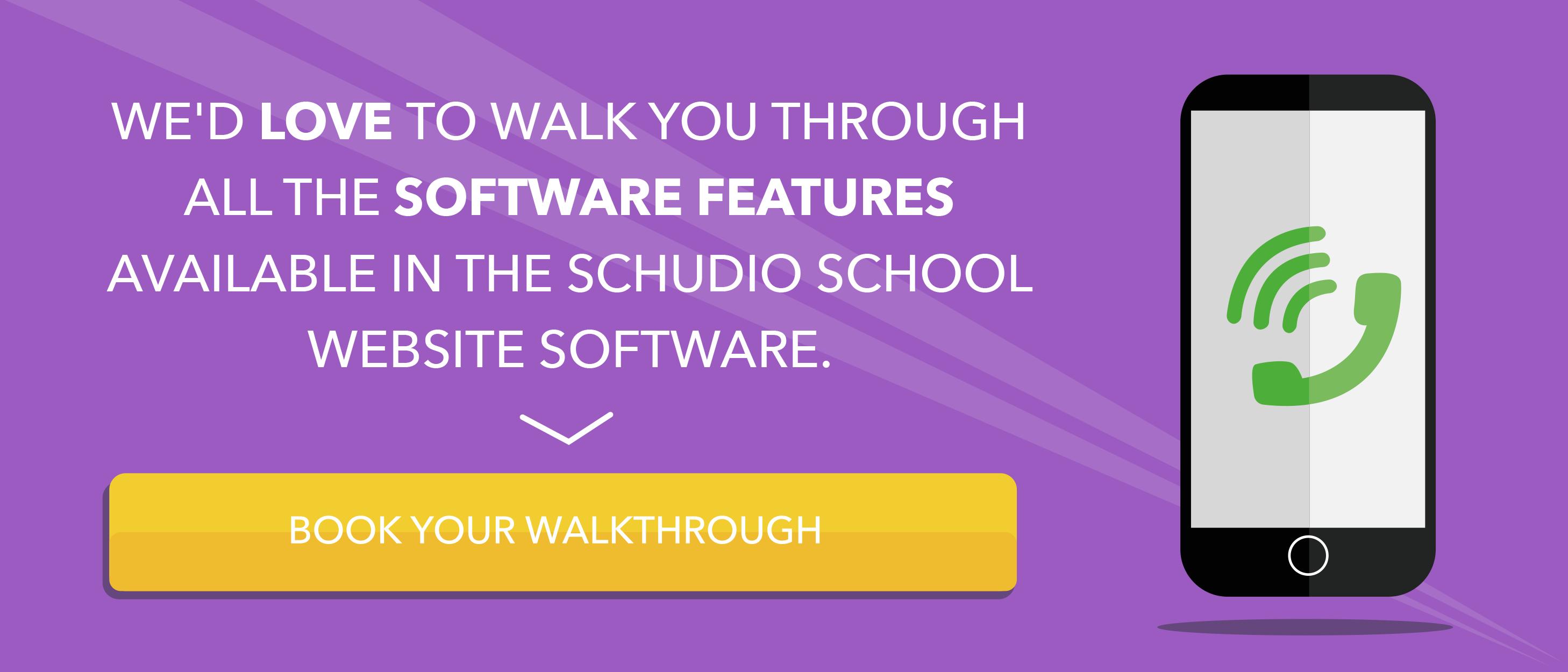 Book a school website walkthrough