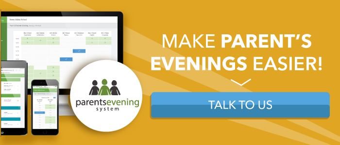 Parent's Evening Bookings - Talk to Use