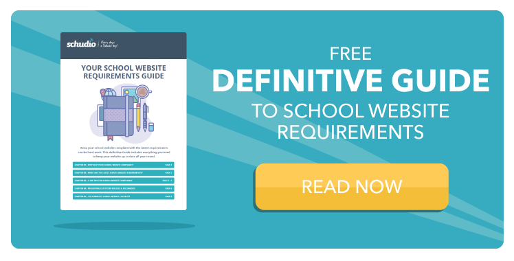 School Website Requirements Guide