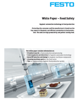 Festo Food Safety Whitepaper