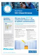 oil cleanliness flyer