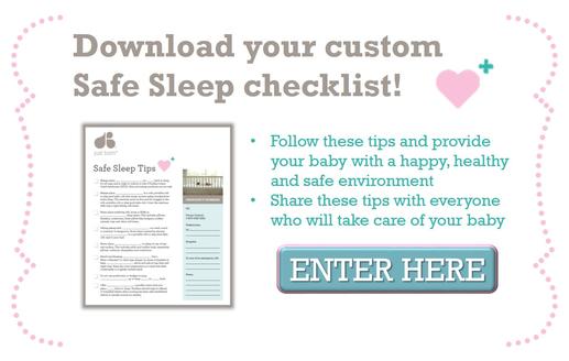 Safe Sleep Tips for you newborn