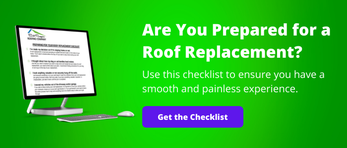 prepare for your roof replacement checklist