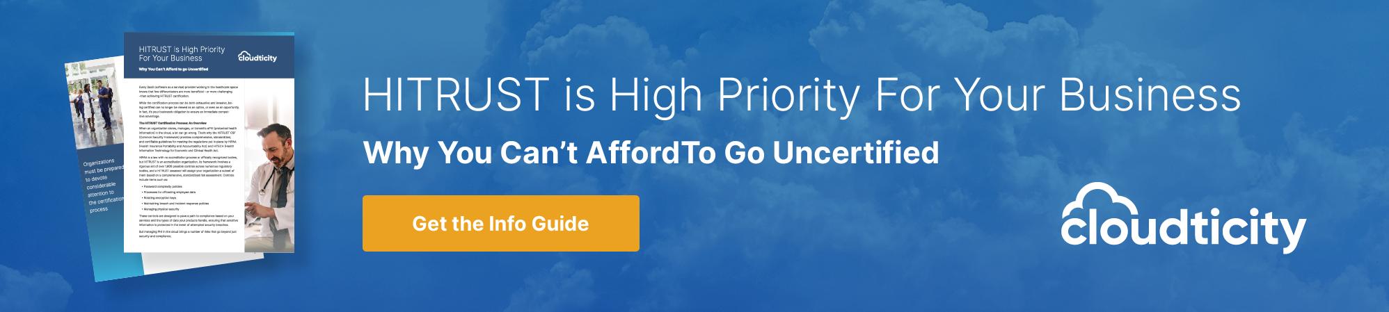 hitrust-is-high-priority