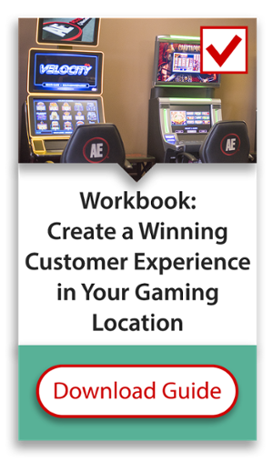 Download our workbook to create a winning customer experience in your gaming location