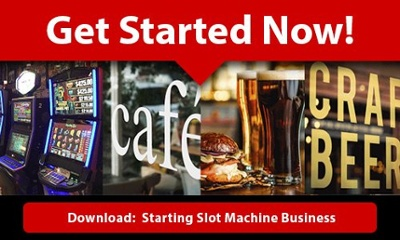 Download our guide to starting a slot machine business