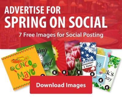 Social Media Spring Graphics 2019