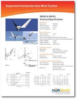 Download Superwind SW350-SW353 Datasheet