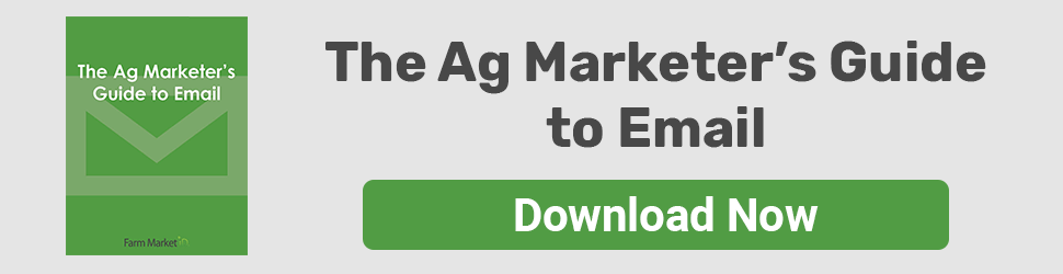 The Ag Marketer's Guide to Email - Download Now