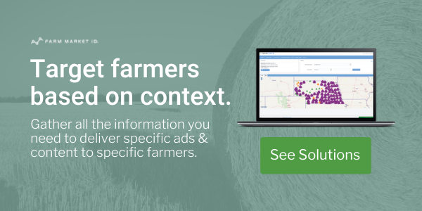 Target farmers based on context. Learn about our data-powered marketing  solutions.
