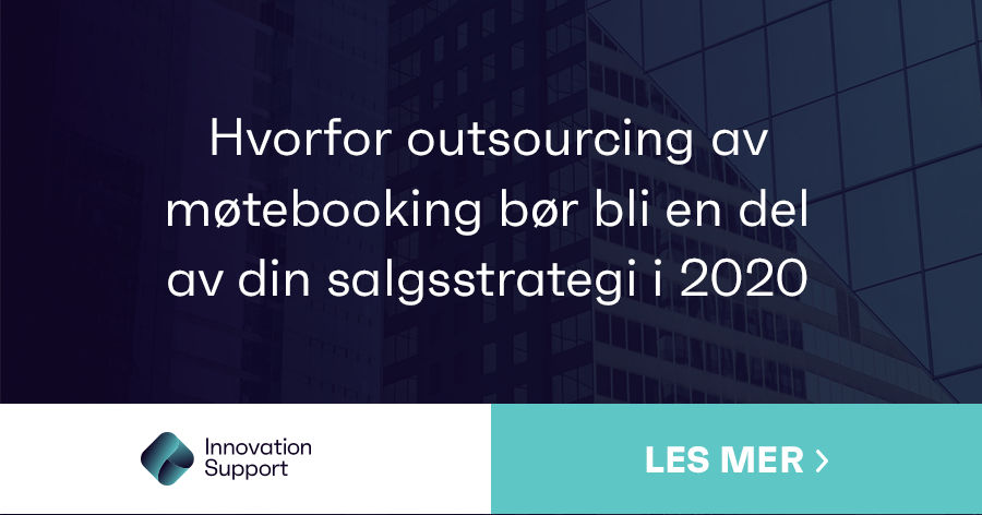 Outsourcing av møtebooking