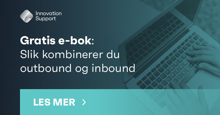 E-bok om hvordan du kombinerer inbound marketing og outbound