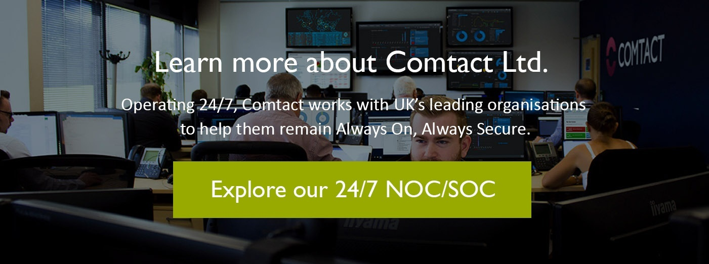 Explore our 24/7 NOC/SOC