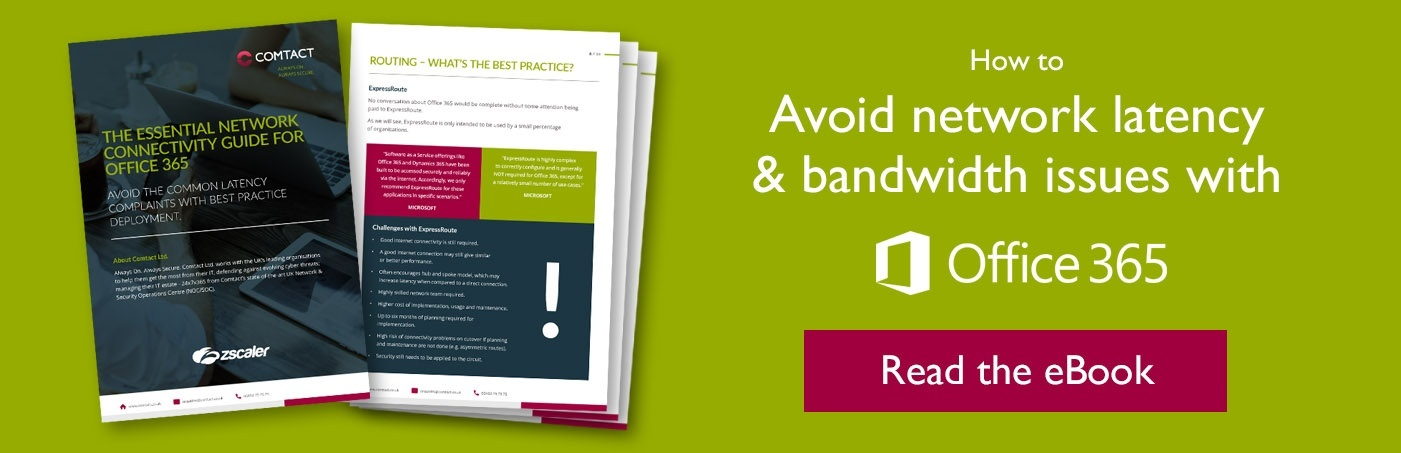 eBook: Network latency & bandwidth issues with Office 365 migration