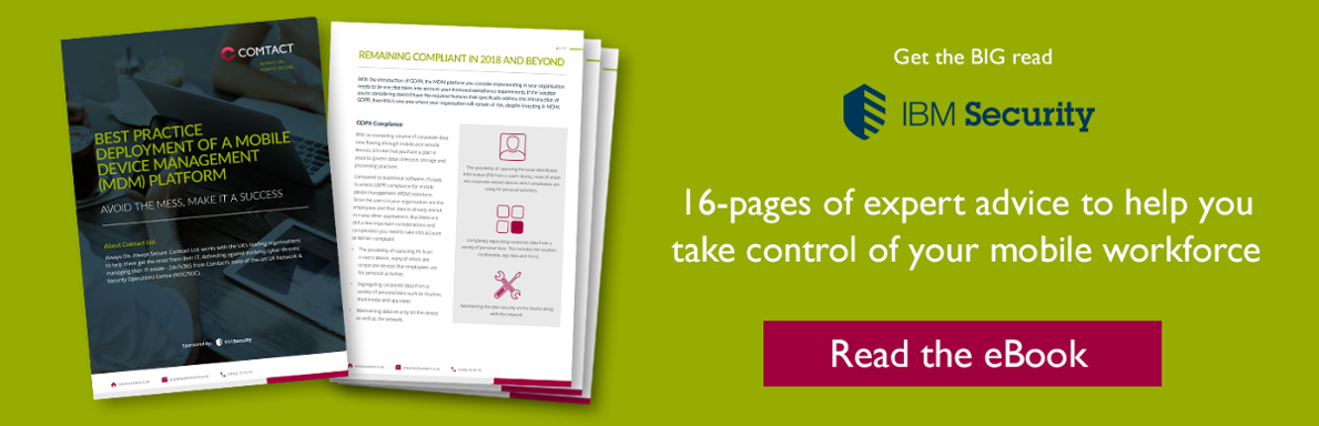 Guide to Mobile Device Management (MDM) Deployment